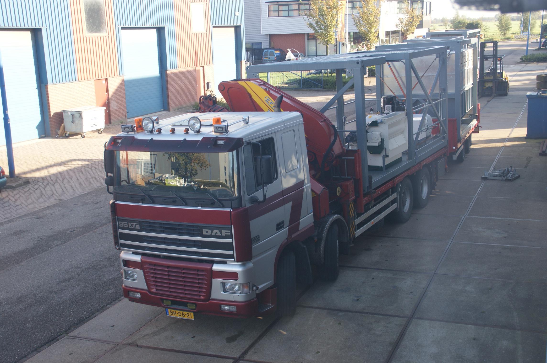 skid frame transport